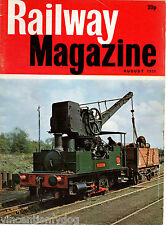 The Railway Magazine : August 1971 published by IPC Transport Press