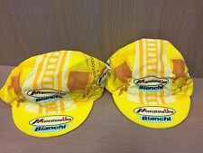 Genuine Classic Mercatone Uno Marco Pantani Bianchi Cycling cap, Italian Made