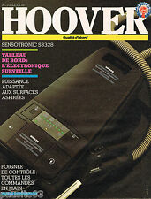 PUBLICITE ADVERTISING 065 1985 HOOVER aspirateur SENSOTRONIC système 50   030615