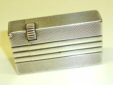 Pasque paris solid silver Liftarm lighter-briquet argent massif - 1950-France