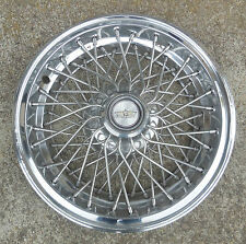 """15"""" 1993 94 95 96 Chevrolet Caprice Wire Hubcap Wheel Cover"""