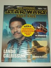 STAR WARS OFFICIAL FACT FILE #6 UK MAGAZINE LANDO CALRISSIAN WOOKIEE