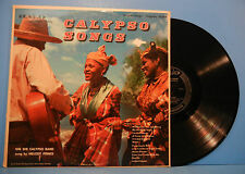 NATIVE CALYPSO SONGS VINYL LP 1952 RE '56 HALO/ALLEGRO  GREAT COND! VG+/VG+!!