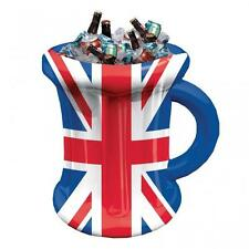Great Britain Union Jack Inflatable Beer Mug Cooler