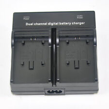 DUAL Battery Charger for Canon BP-709 BP-718 BP-727 BP-745 LEGRIA HF M506 R506