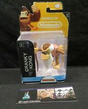 "Cranky Kong Donkey Kong World of Nintendo 2.5"" figure Jakks Pacific"