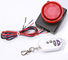 12V Motorcycle Bike Anti-Theft Security Alarm System Vibration Sensor w/ Remote