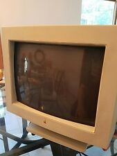 "VINTAGE -  Apple Color Plus 14"" Display CRT Monitor MAC MACINTOSH  MODEL - M1787"