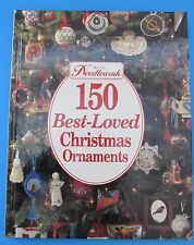McCalls 150 Best-Loved Christmas Ornaments Book Crochet Smocked Cross Stitch