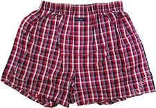 Burberry Japan Ltd Men Boxer Underwear Red Blue Black White Small Tartan-L Size