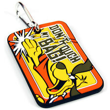 Hong Kong Phooey Luggage Tag- Wacky Races- Baggage Suitcase Holiday Label Travel