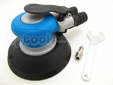 "6"" Air Orbit Sander Lightweight Random Orbital Palm Sander Vacuum Auto Body Sand"