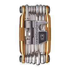 Crank Brothers M19 Multi Tool for Bicycle - 19 Bike Tools - Gold