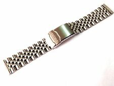 20MM SEIKO STAINLESS STEEL JUBILEE WATCH STRAP STRAIGHT END (SE6)
