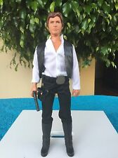 Vintage~Kenner~1978~Star~Wars~Han~Solo~ 12 Inch~ EX+ Weapon