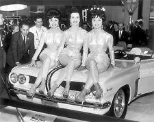 1961 Pontiac Monte Carlo Concept Convertible  8 x 10 Photograph