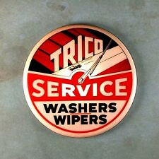 """Vintage Style Neon Advertising  Photo Fridge Magnet 2 1/4""""  Trico Wipers Washers"""