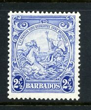 "Barbados 1938 KGVI 2½d ""Mark on central ornament"" flaw SG 251a mint"