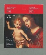 CANADA 2006  Booklet - CHRISTMAS (Madonna & Child) - 12@51c - Complete MNH