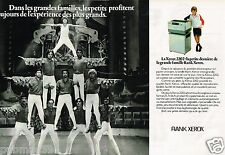 Publicité advertising 1979 (2 pages) Le Photocopieur Rank Xerox