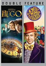 Hugo/Willy Wonka (DVD, 2014, 2-Disc Set) NEW