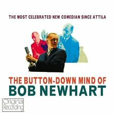 CD THE BUTTON-DOWN MIND OF BOB NEWHART ABE LINCOLN DRIVING INSTRUCTOR KRUSHCHEV