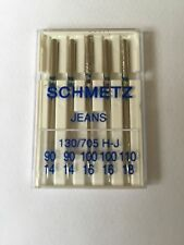 Schmetz Mixed Denim Sewing Machine Needles x5 Suitable for Canvas & Waxed Cloth
