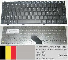 Clavier Azerty Belge ASUS Z96 Z96J Z96F S96 S96J K020602F1  PK13ZHM01E0 Noir