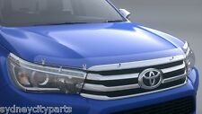 TOYOTA HILUX HEADLAMP COVERS SR5 FROM JULY 2015  LED TYPE NEW GENUINE ACCESSORY