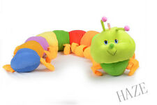 Cute Baby Colorful Inchworm Soft Lovely Developmental Child Toy Doll Caterpillar