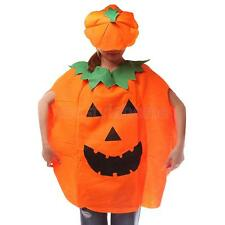 Unisex Fancy Dress Pumpkin Outfit Clothes for Halloween Costume Party Adults