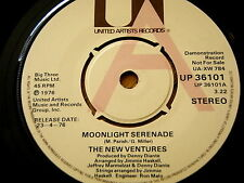 "THE NEW VENTURES - MOONLIGHT SERENADE  7"" VINYL DEMO"