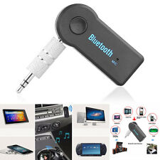 New Sport Wireless Bluetooth 3.5mm Audio Stereo Music Car Receiver Adapter Mic