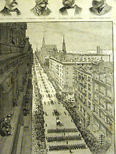 Parade for JEANETTE DEAD NYC Collins DeLong Chipp Ambler Kaack 1884 Art Matted