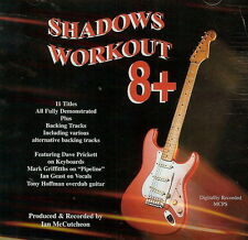 SHADOWS WORKOUT 8 +   BACKING TRACK CD BY Ian McCutcheon