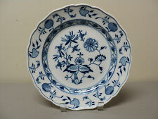 """GORGEOUS MEISSEN """"BLUE ONION"""" 9 3/4"""" DINNER PLATE, CROSSED SWORDS ON FRONT"""