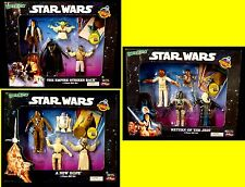 Just Toys Bend-ems Star Wars Trilogy 3 Gift Sets with Coin 1994 Boba Fett Vader
