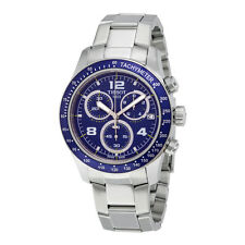 Tissot T-sport V8 Blue Dial Stainless Steel Mens Watch T039.417.11.047.02