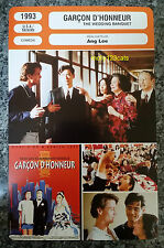 US Taiwan Movie The Wedding Banquet Ang Lee Winston Chao French Film Trade Card