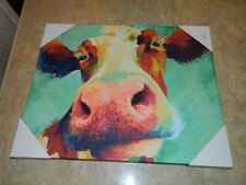 Penny The Smiling Cow Dollar General CNN HGTV Canvas Poster Print Painting
