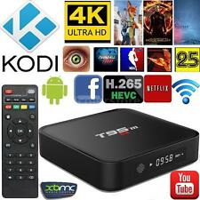 1GB+8GB Android 6.0 Amlogic S905  WiFi KODI Smart TV BOX 4K IPTV Decoder T95M