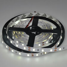 5M 5630 SMD 300LEDs White 5500K-6000K IP33 LED Strip Lights Lamp 16Ft DC 12V