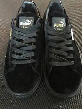 New Puma Rihanna Creepers Black Velvet - No Box Just Shoes