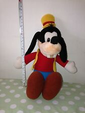 1989 Adorable GOOFY The Dog Walt Disney Soft Toy Teddy - Hasbro Collectable Rare