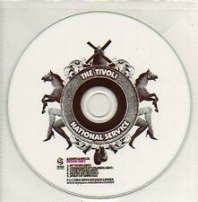 (899D) The Tivoli, National Service - DJ CD