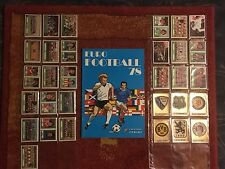 Panini Euro Football 78 (1978) complete set (256 sticker) + empty album - RARE