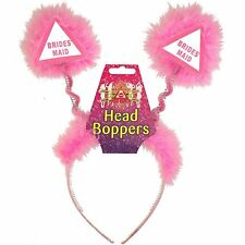 Pink Bridesmaid Head Boppers (YGB 124)