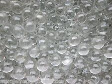 "MARBLE BULK LOT 2 POUNDS OF  5/8"" CLEAR GLASS CRYSTAL MARBLES FREE SHIPPING"