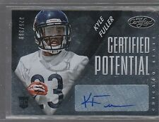 2014 CERTIFIED POTENTIAL AUTOGRAPHS #PKF KYLE FULLER # 325/399