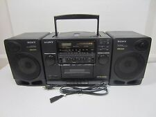 Sony CFD-510 CD AM/FM Radio Stereo Boombox - Cassette Player Not Working